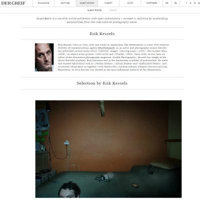 Erik Kessels: Guest room